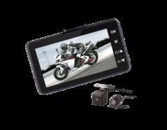 Biker's Camera Motorcycle Dash Cam Moto One Sports Action Camera black