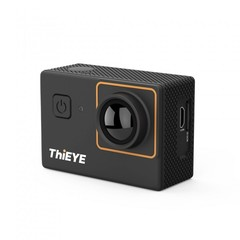 ThiEYE i20 Mini Action Camera 4K 1080P HD 40M Waterproof Outdoor Sport Camera  Sports DV black one size