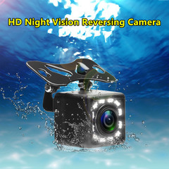 sunRiseAtSea Car Reversing Camera 12 LED Rear View HD Parking Backup Camera 170 Degrees Night Vision pal