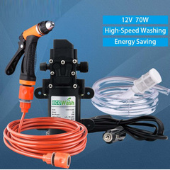 12V High Pressure Cleaner Electric Washing Machine Car Washer Gun Pump As Picture