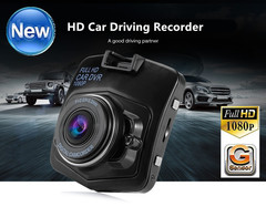 2.2 Inch Screen Mini Car Driving Recorder,HD 1080P Dash Cam 170 Wide Angle DVR with G-Sensor black