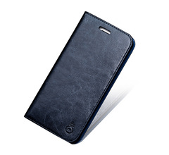 iPhoneXS MAX mobile phone case Apple XR flip leather huawei huawei P30 Pro Samsung note10 cases dark blue iphone 7/8