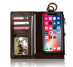 New iPhone8 mobile phone case Apple X/7/6G two-in-one mobile phone case Samsung S7 edge plus dark blue iphone 7/8