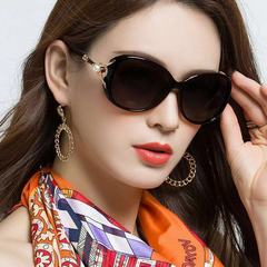 Women Pearl Jewel Arm Luxury Diva Designer Sunglasses Black Smoke black one model