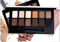 ColorStay 16 Hour Eye Shadow Quad Profusion Cosmetics Mini 12 Shade Eyeshadow Palette Mattes one color