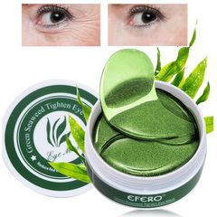 60Pcs Collagen Eye Mask Gel Eye Patches for   Wrinkle Dark Circles Remover Face Care Mask as picture