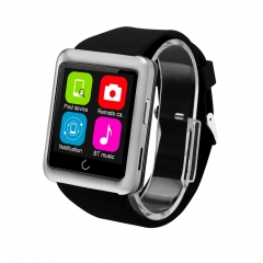 Excelvan U11 Bluetooth GSM Phone Watch with Call Remider / Pedometer Sleep Tracker Silver
