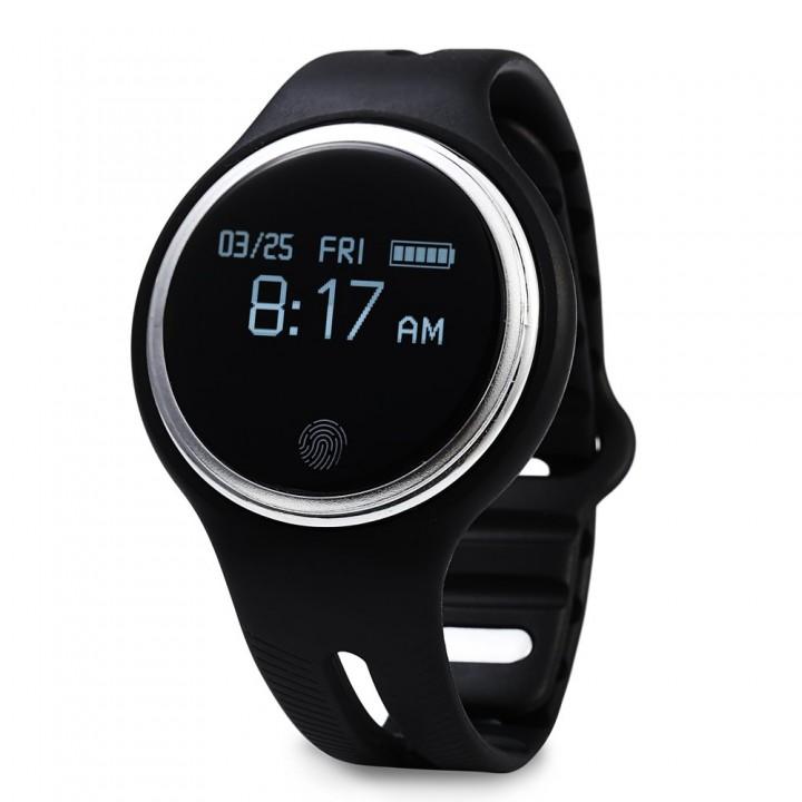 E07 Call Reminder & Remote Capture Anti-lost Sport Smartwatch Black One Size
