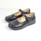 High Quality Girls School Shoes PU Leather-Black black 35