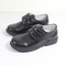 Boys Covered School Shoe Two Strappy Children's Choes black 34