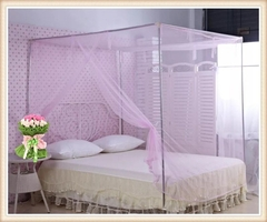 Mosquito Net Encryption Bed Net Mosquito Curtain for Africa Malaria Control white 6*6 pink 6*6