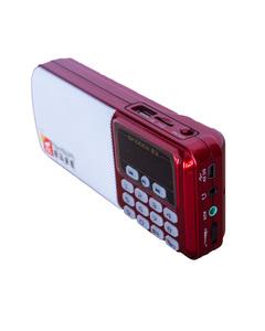 Portable FM Radio Singbox - Red