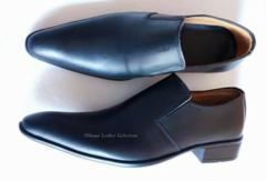 Men office shoe Black 42 Leather