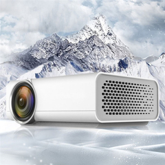 YG520 Mini LED Projector Support 1920x1080, HDMI USB AV SD. Home Theater Basic Version(YG520)