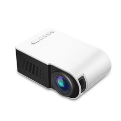 YG210 Mini Projector Video Digital HD 1080P LCD for Home Cinema Theater Beamer White