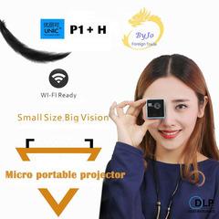 Original UNIC P1+H Plus Wireless Mobile Projector black