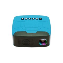 U20 LCD Full HD 1080P Mini Projector 500LMs Home Theater Cinema Movie LED Proyector Blue