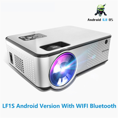 C9 LED Projector 1280*720P Support 4K Videos Via HDMI Home Cinema Movie Android Projector (Andriod version with hdmi input)