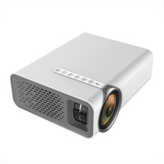 Led Mini Projector Yg530 Phone Direct Connection Screening Projector Sync version-white