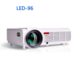 LED96 wifi led projector 3D android Basic version-white