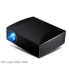 Full HD F30UP Projector 1920x1080P for Android (2G+16G) 5G WIFI LED MINI Projector andriod version-black