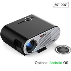 GP90 Projector with 3200 Lumen 1080P 1280*768 home theater Basic version black