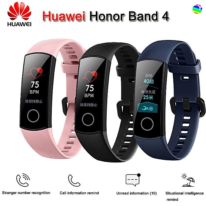 HUAWEI Honor Band 4 Smart Watch Multifunctional Sports Bracelet Black 43*17.2*11.5mm