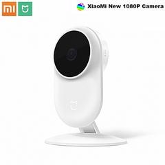 Xiaomi Ai Smart IP Camera CCTV 130 Wide Angle monitor 1080p-white Camera white