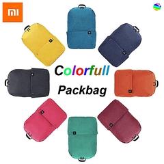 MI Xiaomi 10L Backpack Bag Colors Level 4 Water  Repellent  students School bag black