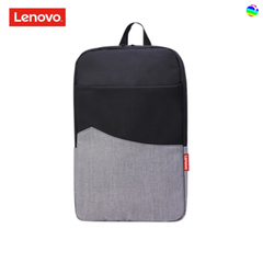 Lenovo service urban simple backpack computer bag 14-inch business casual student backpack Black-grey