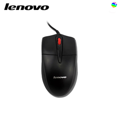Lenovo FML301 cable USB optical mouse laptop desktop computer all-in-one black .