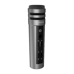 Lenovo UM10C Microphone K Song Anchor Microphone Apple Android Capacitor Mac gray