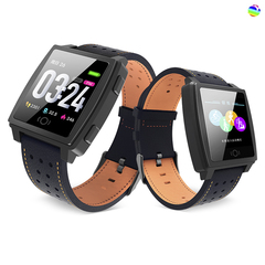Dihu band watch CK22 Suitable for huawei, xiaomi and other mobile phones black .