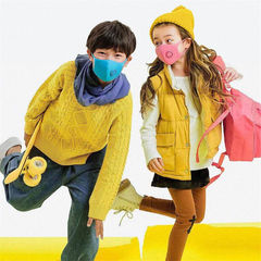 Xiaomi/Smartmi/zhimi,Children Haze mask, Enfant Anti-dust masks,respirator,Filtration 97% PM2.5 1pcs pink(S)
