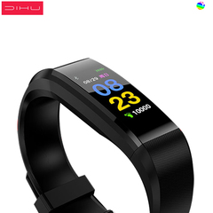 dihu Intelligent Bracelet Similar to xiaomi Bracelet  band black .