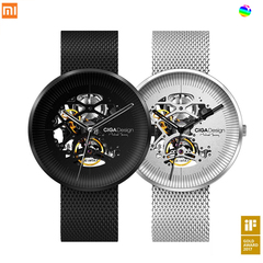XIAOMi MI CIGA Designs Men's Wristwatch With Automatic Winding black .