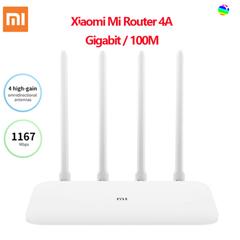Xiaomi mi 4A GIGABIT version 2.4 GHZ + 5 GHZ wifi 16 Mb ROM + 128MB high Gain 4 antenna control IPv6 white