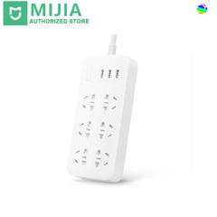 xiaomi Mi power with 2A Snel Opladen 3 Usb expansion socket plug 6 standard socket EU adapter white .