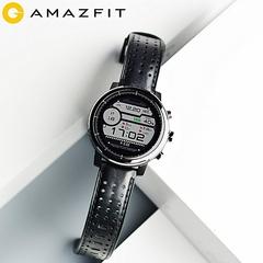 Xiaomi AMAZFIT Stratos Sports Smart Watch 2 GPS 1.34inch black 35.4*35.4*13.7mm