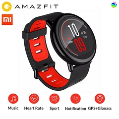 Xiaomi Huami AMAZFIT Pace Bluetooth 4.0 SmartWatch-BLACK black 35.4*35.4*13.7mm