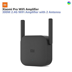 Xiaomi Pro 300M WiFi network Amplifier WiFi Repeater black
