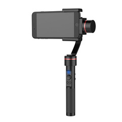 S2 Smooth-C+ Multi-function 3 Axis Handheld Steady Gimbal PTZ Camera Mount for Smart Phones black 300 * 116 * 41.5mm