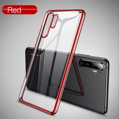 Full Cover Tempered Glass for Huawei P30 Pro HD Clear Screen Protector for P30 Pro Protection Film Red-P30 Pro For P30 PRO