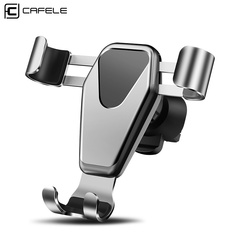 New Universal Car Phone Holder Metal Multi-function Navigation Device Rotating Air Outlet Gold size