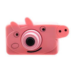 Toddler Toys Carton Child Camera Educational Mini Digital Photo Camera Juguetes Photography Birthday Pink-1
