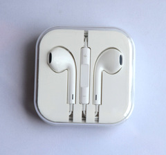 Earpod 3.5mm wired earphone for moblie phone with micphone for Samsung iphone wire