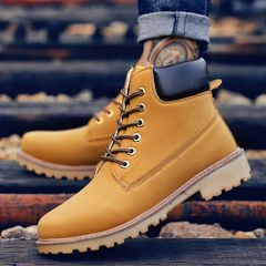 hot salesMens shoes boots Outdoor Hiking ShoesTravelTall Boots shoes men sport shoes sneakersblack42 yellow 44