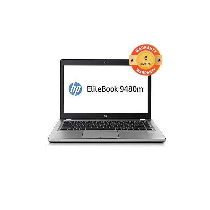 """HP Elitebook Folio 9480m Refurbished 14"""" Intel Core i5 4GB RAM 500GB HDD NO OS silver one size"""