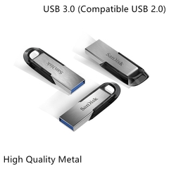 Brand SanDisk high speed 150MB/S U-disk USB 3.0 flash disk car U-disk encryption U-disk silver 3.0 16gb