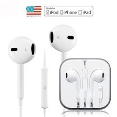 Wired Bluetooth In-Ear Super Mega Bass Earbuds Earphones Earpods for iPhone 7/8/X white